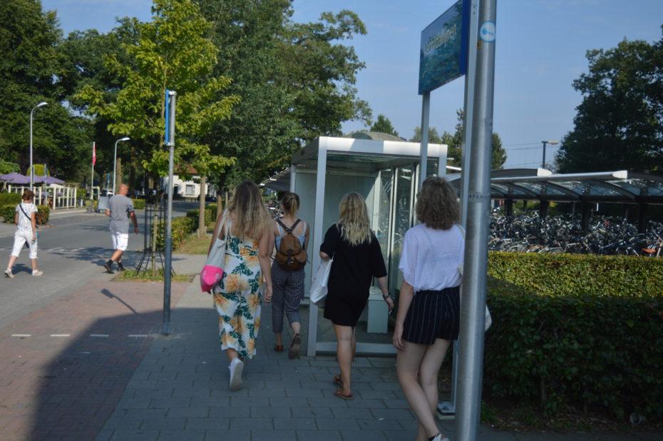 lopen bij station Ommen